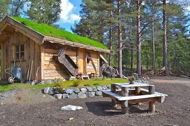 Disfruta de la naturaleza en una casita de un bosque Noruego6
