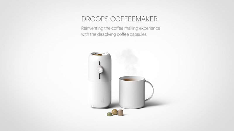 La máquina de café cuyas cápsulas desaparecen al usarlas