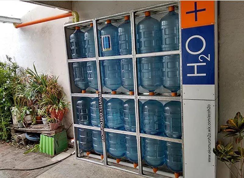 Ekomuro H2o Tanque Modular Vertical Para Almacenar Agua