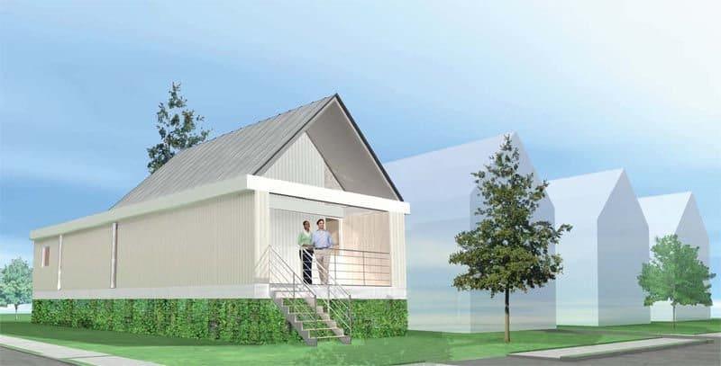 Shigeru-Ban Planos gratis de casas ecológicas