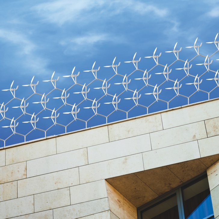 Sistema Windflock para generar energia renovable