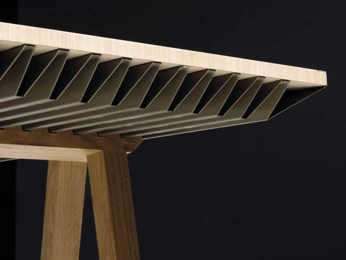 ZEF. Una mesa para refrescar tu habitación sin necesidad de energía detalle