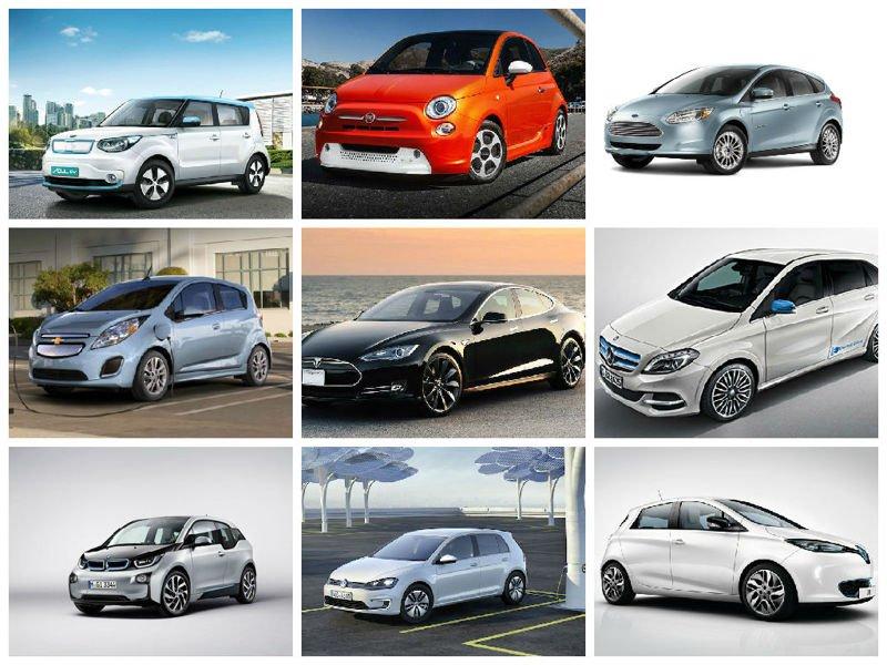 10 de los mejores coches eléctricos de 2015