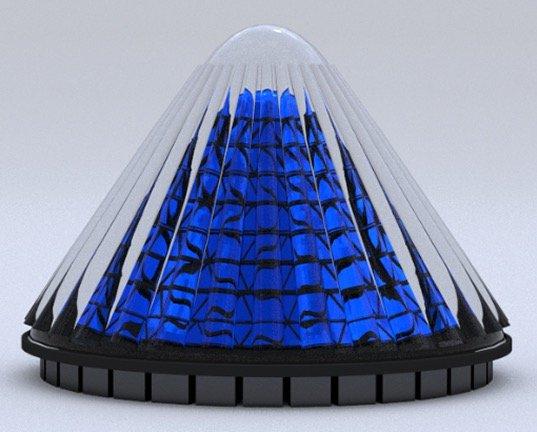 Células solares giratorias de V3Solar 1