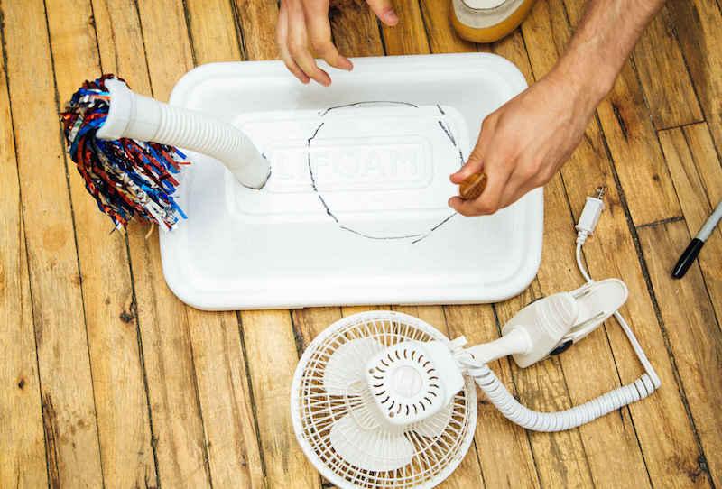Cómo hacer un aparato de aire acondicionado casero 4