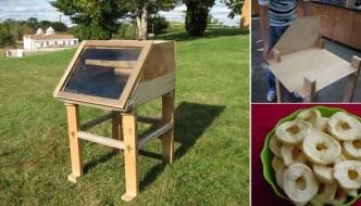 Cómo hacer un deshidratador de alimentos solar casero