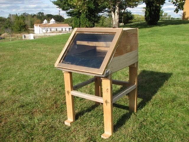 Como hacer un deshidratador de comida solar casero1