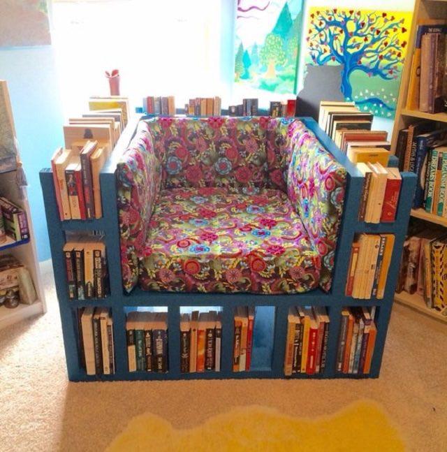 Como hacer un sillón librería 4