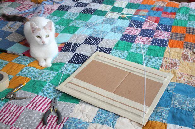 Como hacer una casita para tu gato 6
