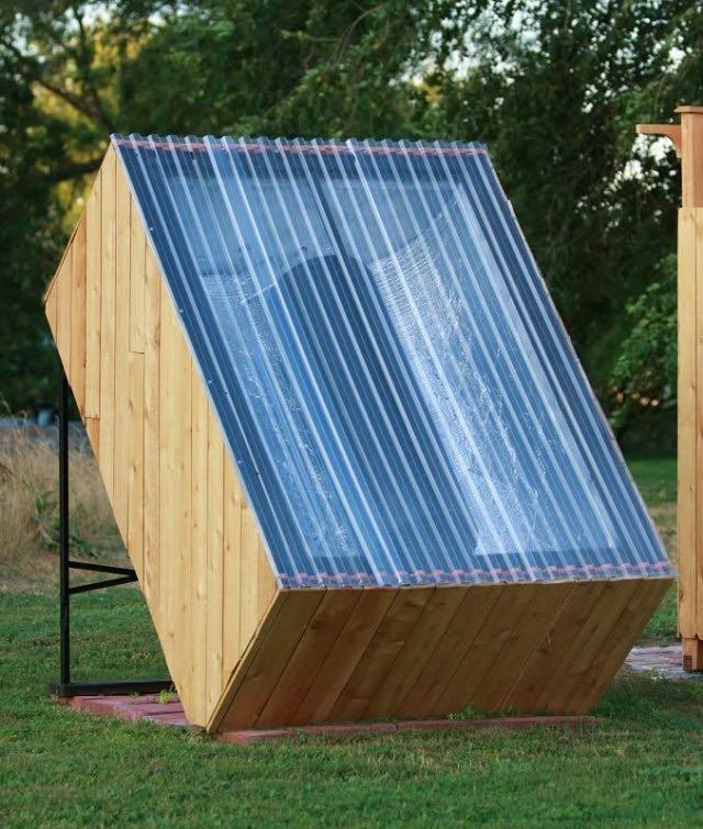 Cómo hacer una ducha solar