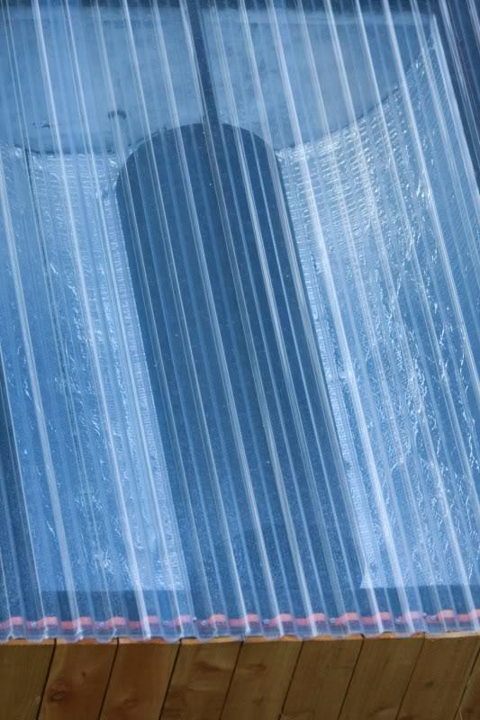 Como hacer una ducha solar al aire libre 3