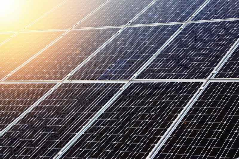 Energías renovables paneles solares