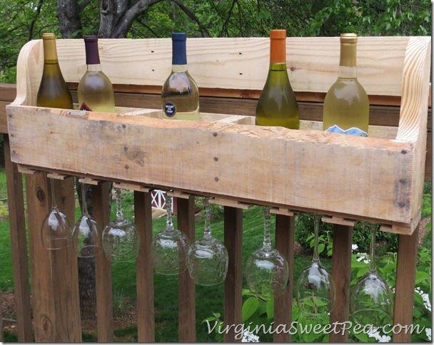 Estanteria para vino