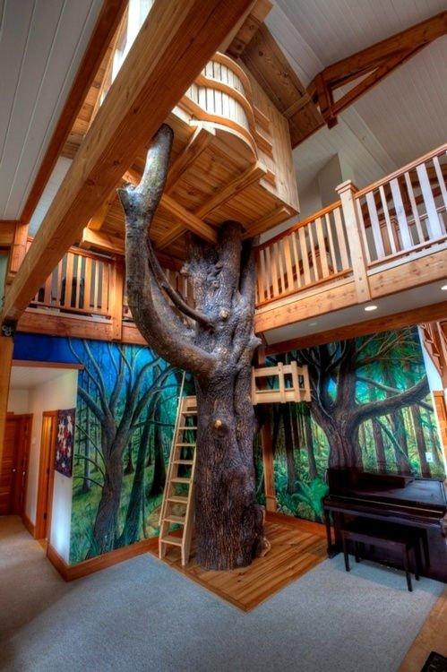 Estas personas hicieron todo lo posible para salvar el árbol de su casa 17