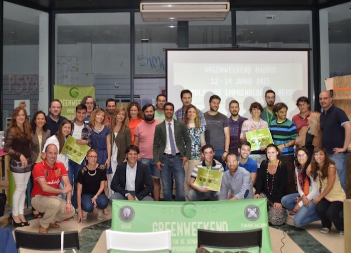 Evento GreenWeekend Madrid 2015. Transformar ideas revolucionarias en proyectos viables y funcionales