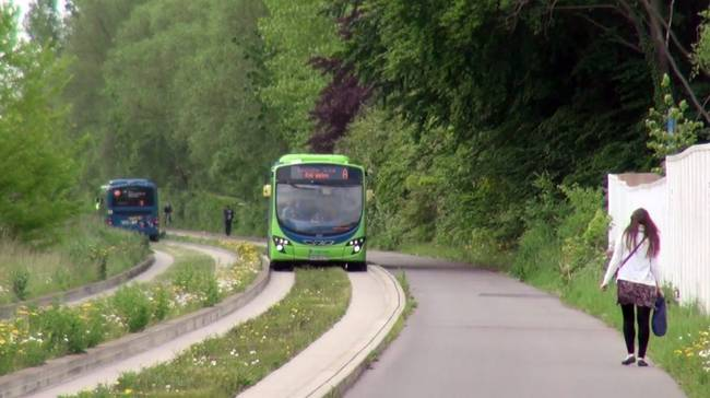 Guided busway1