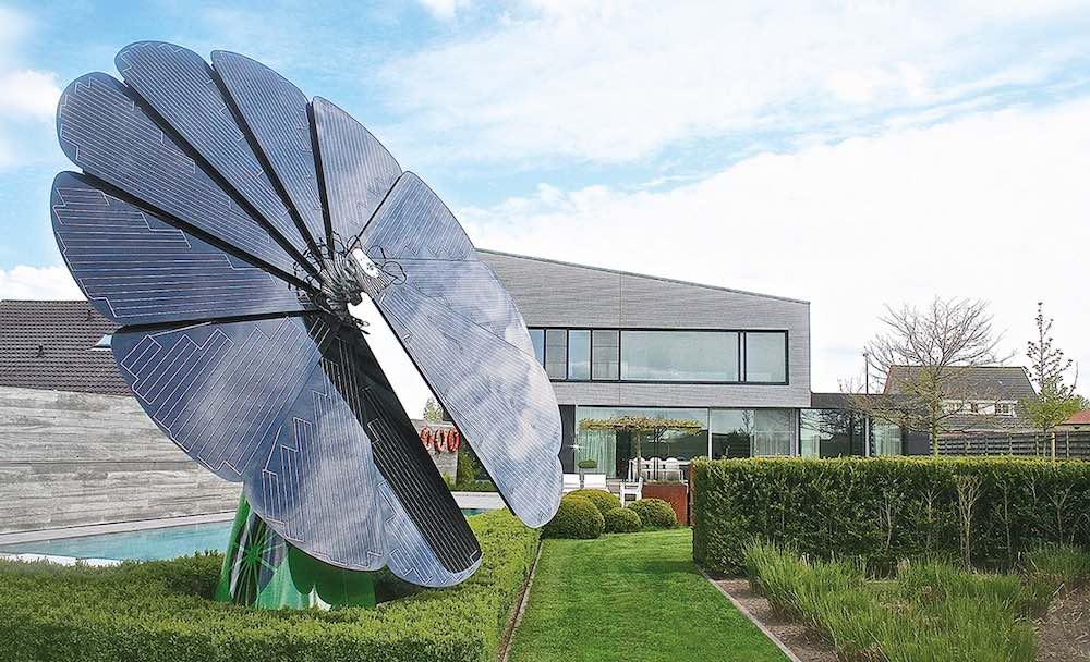 Smartflower POP. Un girasol solar que genera toda la electricidad que necesitas