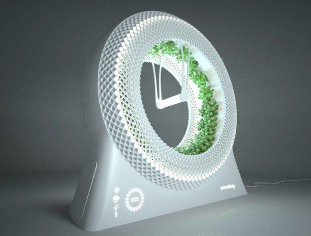 Un revolucionario jardín hidropónico para cultivar comida con tecnología de la NASA 1