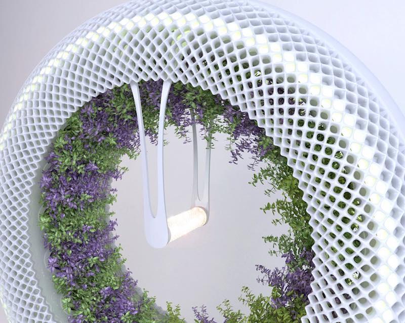 Un revolucionario jard n hidrop nico para cultivar comida - Jardin hidroponico ...