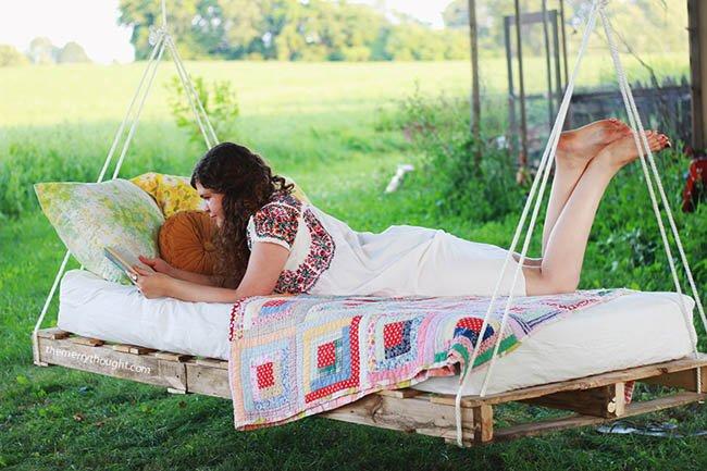 cama abatible de palets