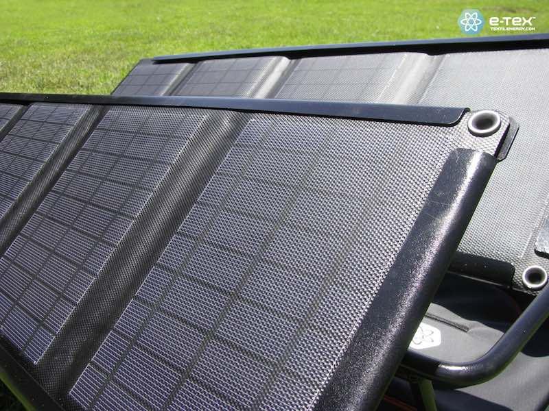 eWings - Detalle panel solar