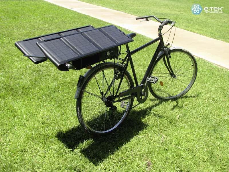 E-Wings. Sistema de alimentación universal solar para que cualquier bicicleta eléctrica sea autónoma