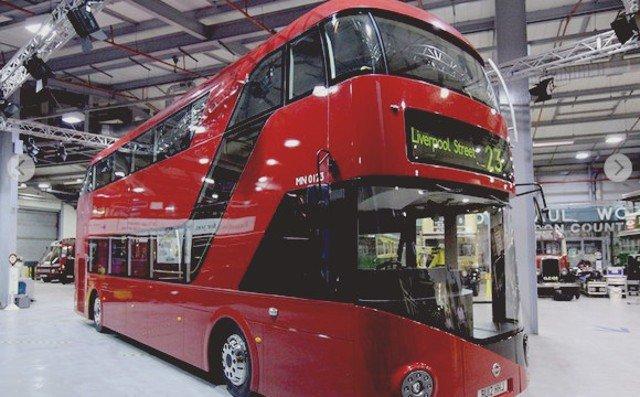 Autobus electrico dos plantas Londres 2