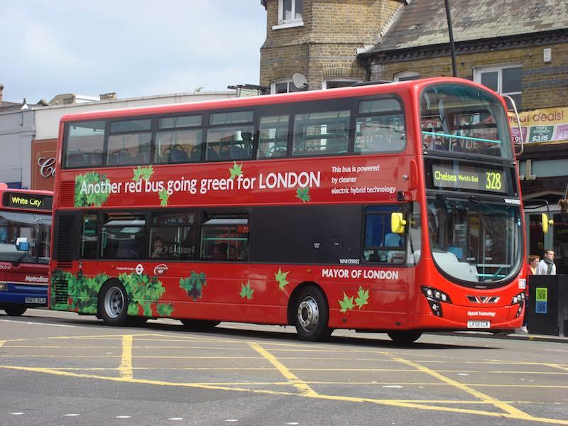 Autobus electrico dos plantas Londres 3