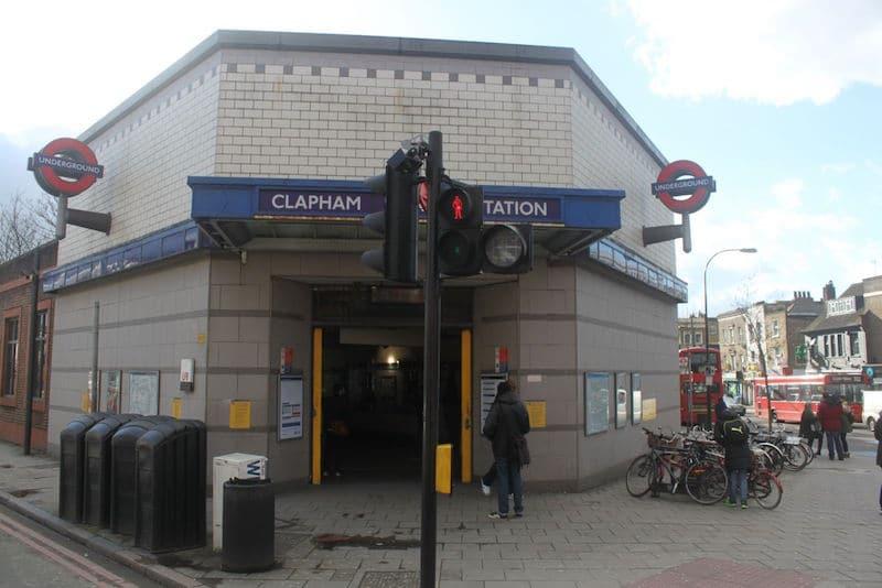 Estacion de metro londres