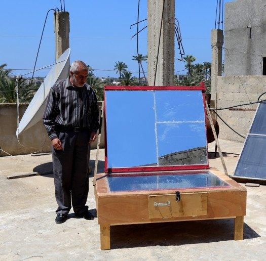 Horno solar Palestina
