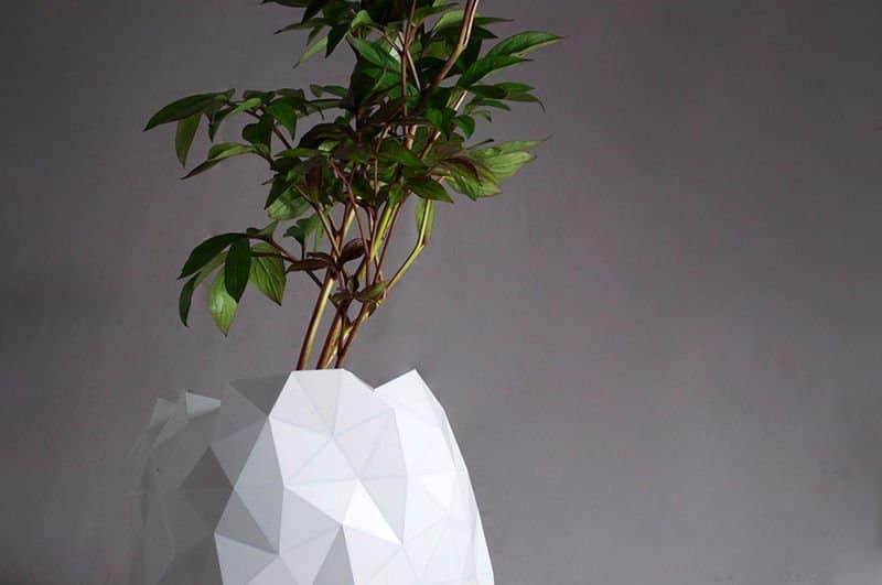 Macetero origami 2