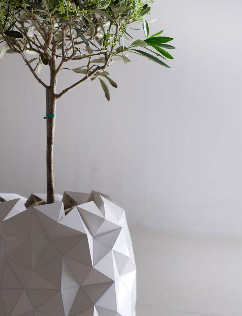 Macetero origami 4