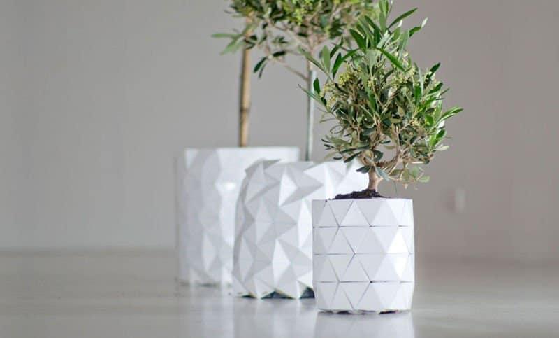 Macetero origami 5