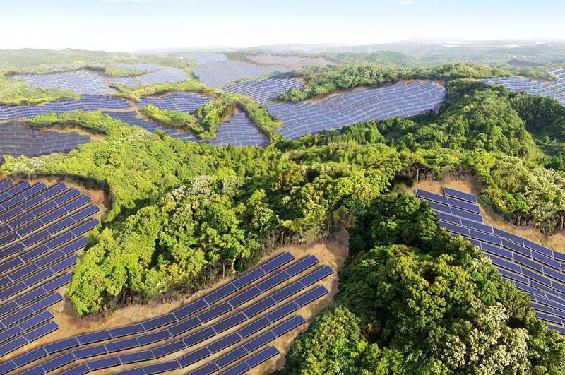 Plantas solares en campos de golf abandonados