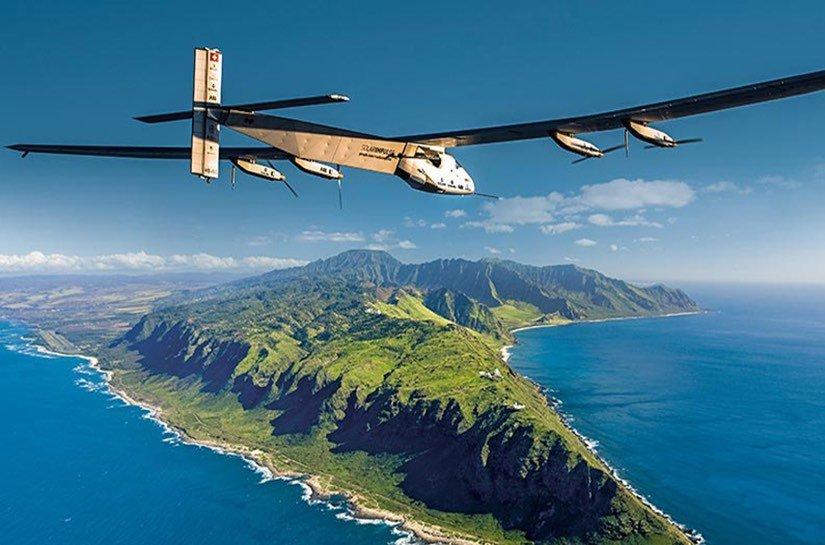 El Solar Impulse 2 ya está en Hawaii después de 80 h en el aire
