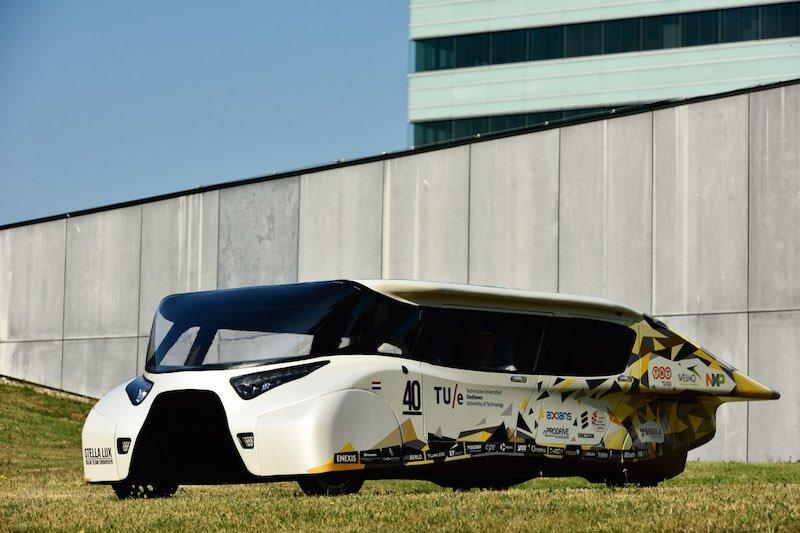 Vehículo solar Stella Lux