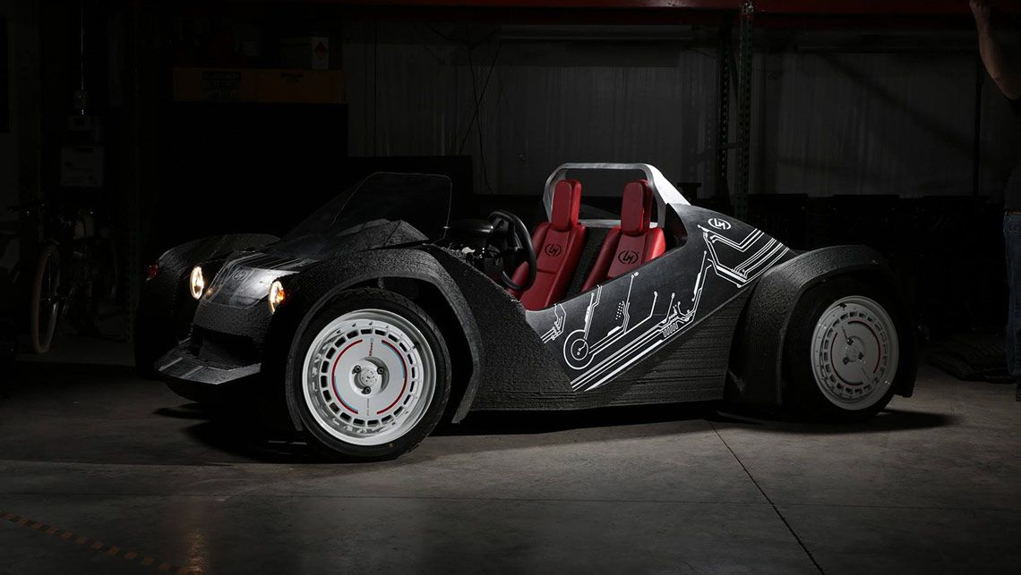 Strati, el primer coche eléctrico del mundo impreso en 3D