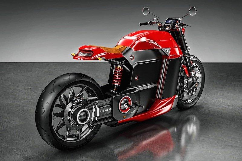 Tesla Model M moto