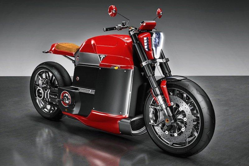 Tesla Model M motocicleta
