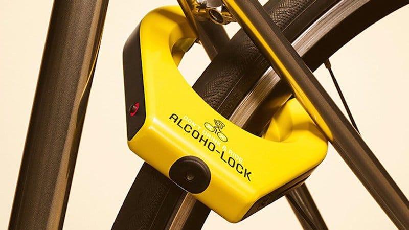 Alcoho-lock, el candado japonés que evita conduzcas tu bici borracho