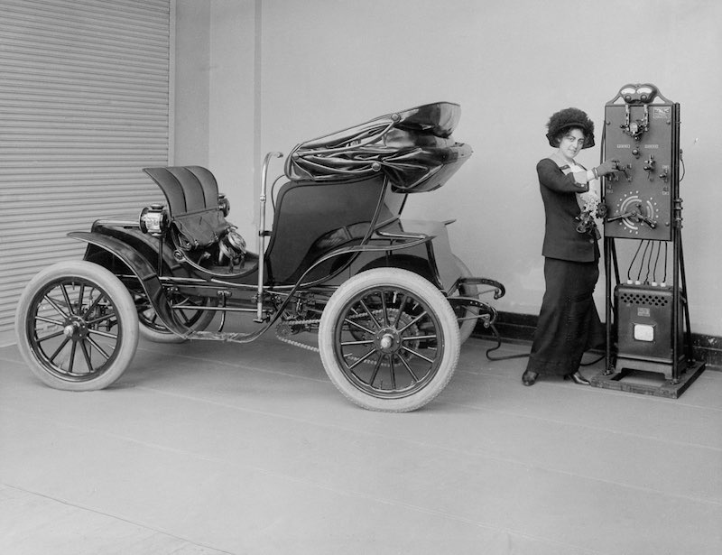 Los primeros coches eléctricos de la historia: 1880-1920