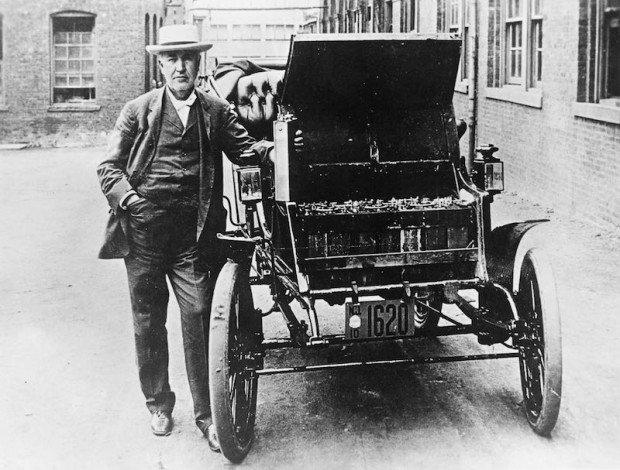 Coche electrico de Thomas Edison