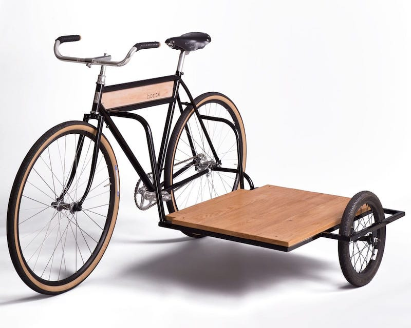 Sidecar bicycle