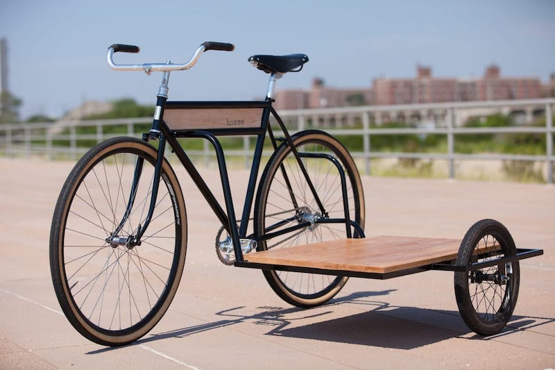 Sidecar bicycle, la bici ideal para el transporte de objetos