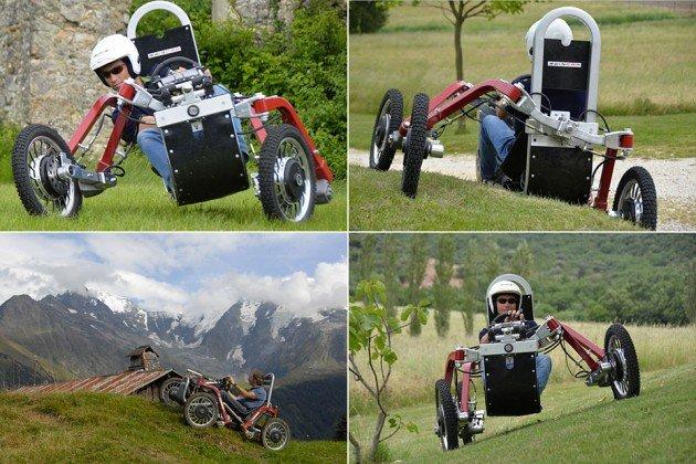 Swincar E-Spider. Una araña eléctrica con ruedas