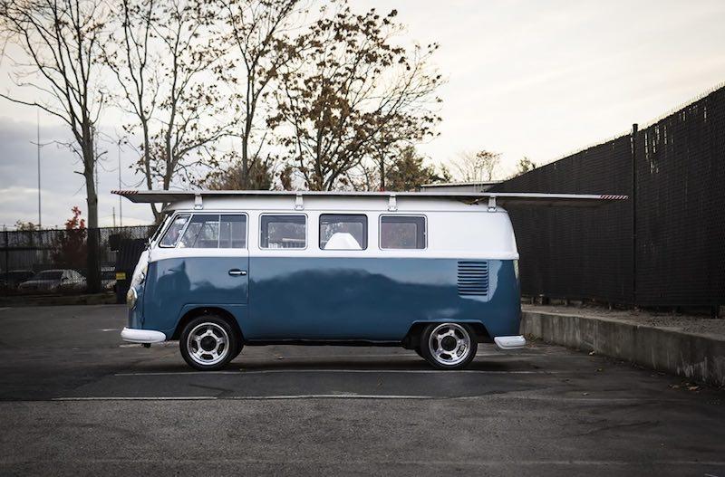 Volkswagen de 1966 impulsada solo por energía solar