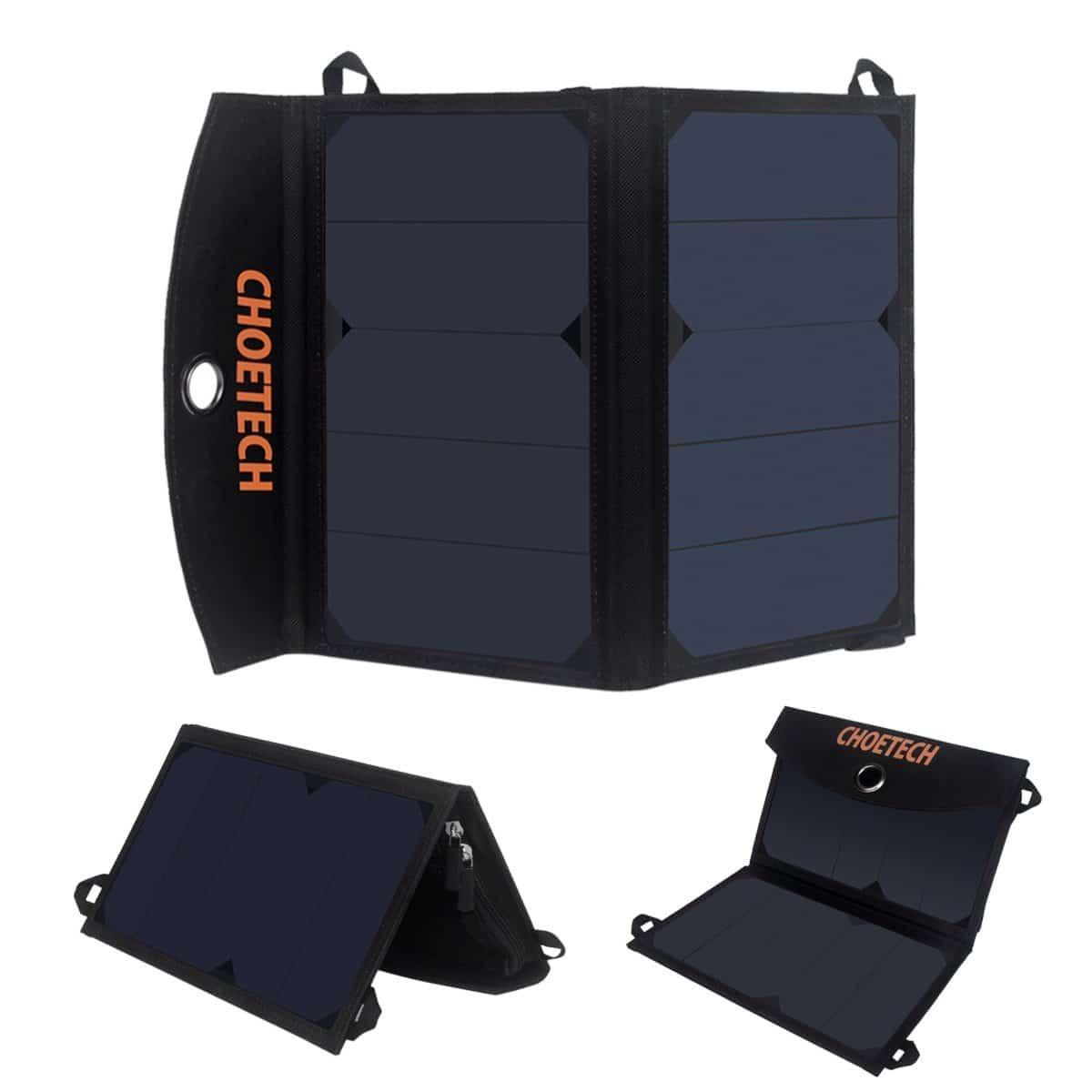 Cargador solar CHOETECH