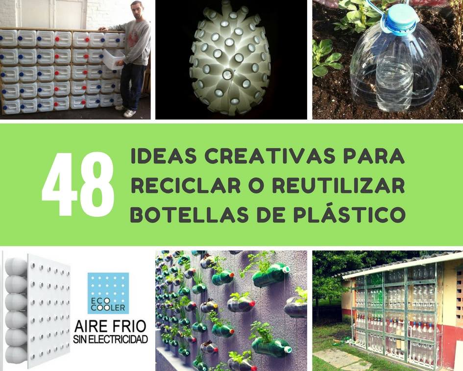 Ideas creativas para reciclar o reutilizar botellas de for Ideas creativas para decorar el hogar