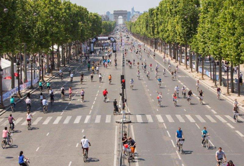 El 27 de septiembre, Paris estará un día entero sin coches