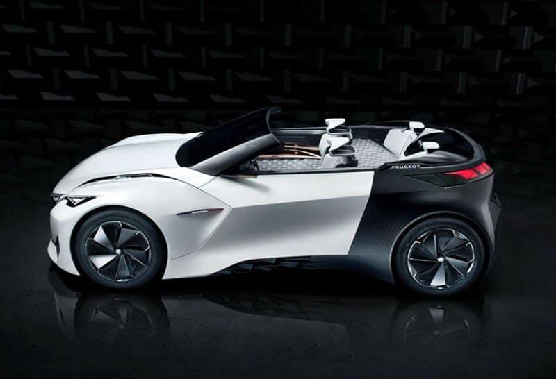 Fractal, el nuevo coche eléctrico de Peugeot